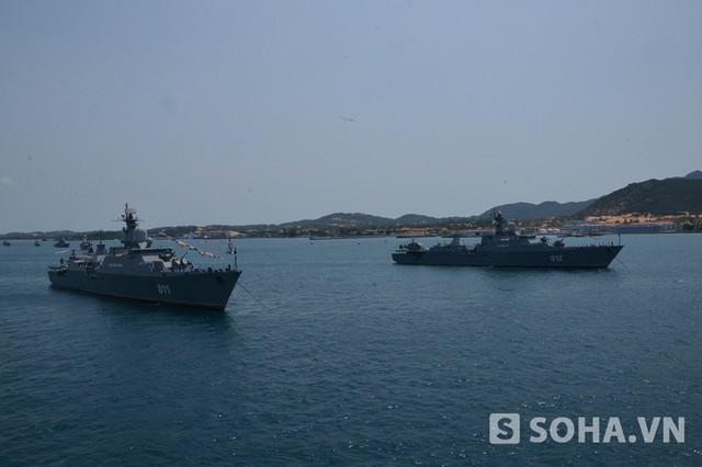 Các tàu hộ vệ tên lửa Gepard-3.9.