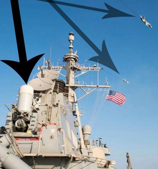 Hệ thống có khả năng tác chiến độc lập rất cao mà không phải phụ thuộc vào radar chính của tàu. Phalanx đem lại hiệu quả cao trong việc đánh chặn tên lửa hành trình chống hạm, vũ khí dẫn đường hay máy bay cánh cố định bay thấp, tiêu diệt xuồng đổ bộ, tuần tra của đối phương. Ảnh: Thechive