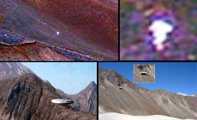 UFO và hững hiện tượng lạ từng thấy trong khu vực