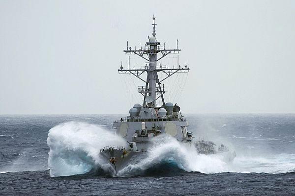 Tàu USS Curtis Wilbur của Mỹ từng thực hiện hành động tự do hàng hải ở quần đảo Hoàng Sa tháng 1/2016. (Ảnh minh họa)