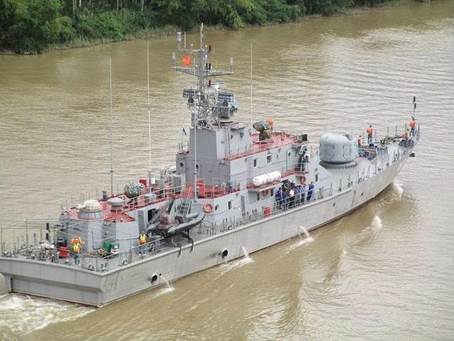 Tàu pháo tuần tra TT-400TP đã được Philippines bày tỏ sự quan tâm