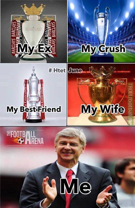 Một lần nữa, Pháo thủ lại quay về với cô vợ cúp FA.