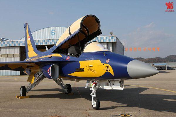Máy bay huấn luyện T-50 của Hàn Quốc bàn giao cho Indonesia