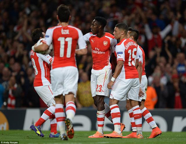 Arsenal đã chơi hay
