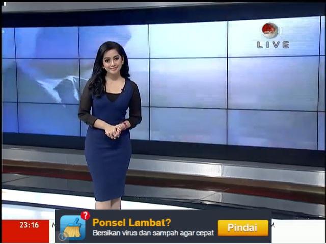 Violla lên sóng truyền hình ở Indonesia