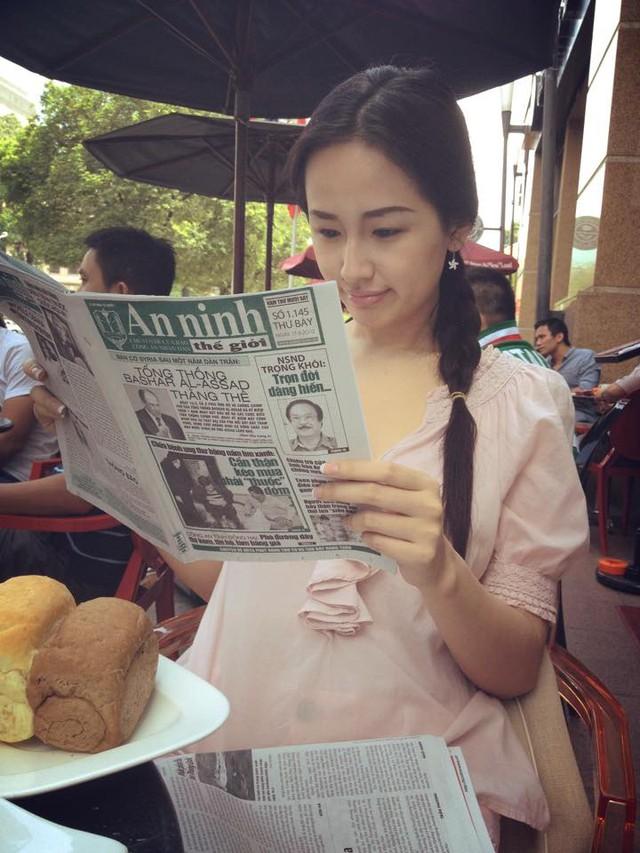 Mai Phương Thúy được nhắc đến như một trong những mỹ nhân sành điệu và thời trang top đầu của showbiz Việt.