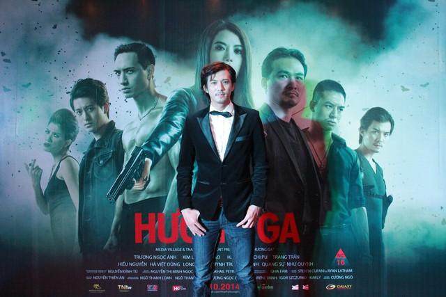 Nam diễn viên Hà Việt Dũng vào vai cảnh sát, người luôn dành cho Hương Ga những tình cảm mãnh liệt từ ngày đi học.