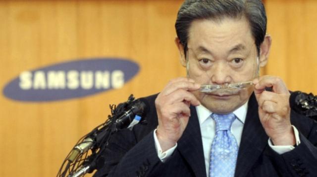 Thua kiện Apple, Chủ tịch Samsung trụy tim nhập viện