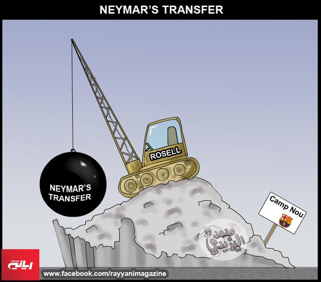 Vụ Neymar đã khiến Barca khốn đốn