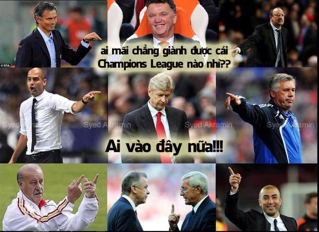 Khổ thân Wenger