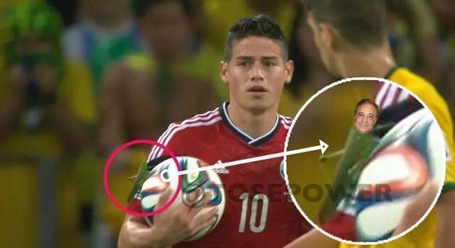Phải chăng Perez đang bám lấy James?