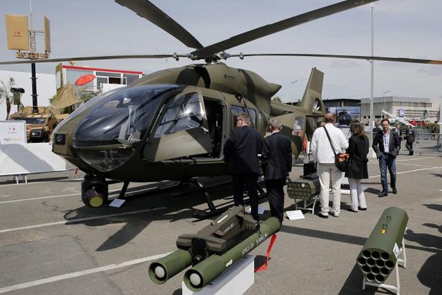 Trực thăng Eurocopter EC645 T2.