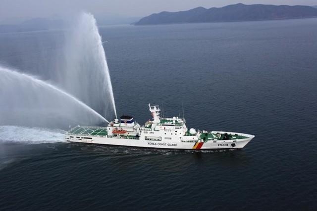 Tàu tuần tra lớp Jemin số hiệu 1513, gia nhập biên chế năm 2012