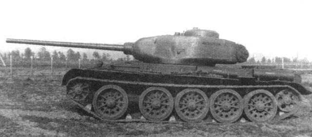 Thiết kế khung thân thấp của T-44