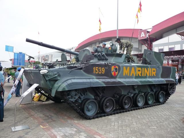 BMP-3F tại triển lãm