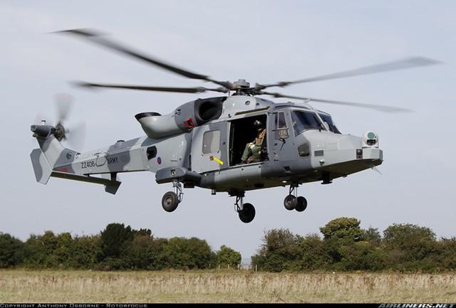 Philippines đang có ý định mua trực thăng AW159 Wildcat của hãng Agusta Westland.