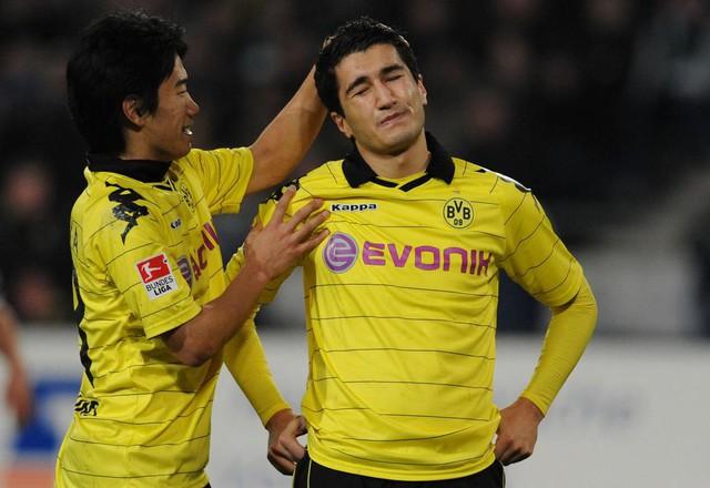 Kagawa và Sahin đã rất vất vả khi rời Dortmund