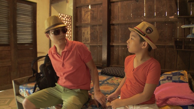 Hình ảnh Hoàng Bách và Tê Giác trong chương trình.