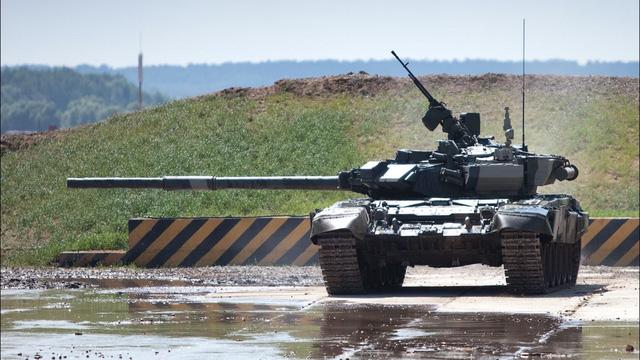 Pháo 125mm là hỏa lực chính của T-90