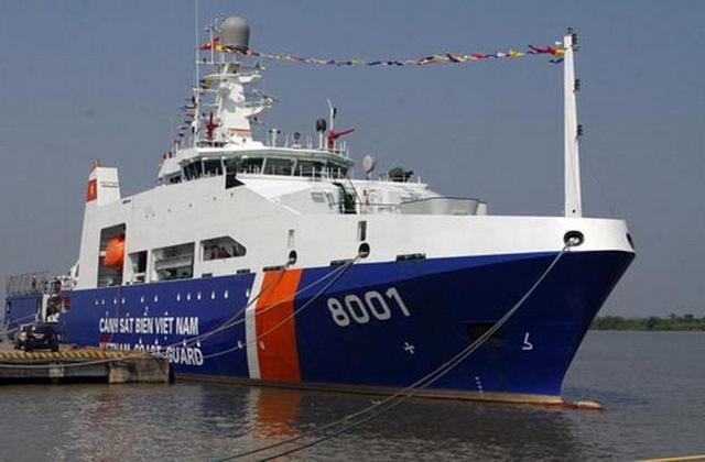 Tàu CSB 8001 có chiều dài 90,5m, rộng 14m, độ cao mạn tàu 7m, với lượng giãn nước hơn 2.500 tấn, công suất 12.000 mã lực.