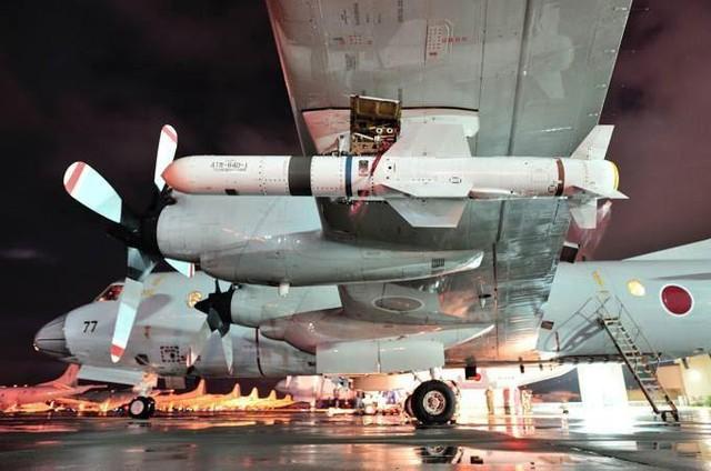 Mỗi chiếc P-3C có thể mang đến 4 tên lửa Harpoon ở các giá treo 2 bên cánh và dưới bụng.