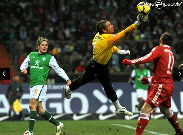 Anh đã từng là thủ môn có tiếng ở Đức