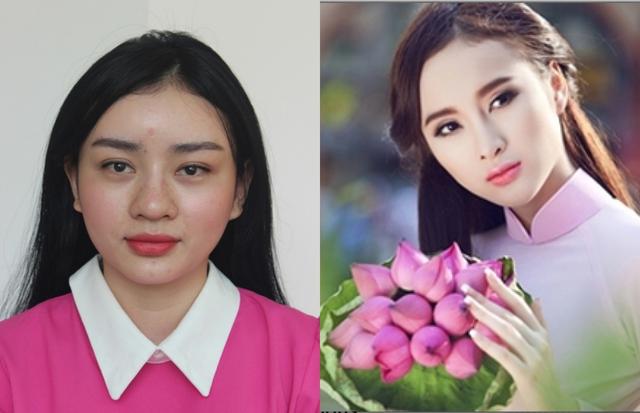Angela Minh Châu với sự hoá thân trở thành Phạm Băng Băng của Việt Nam