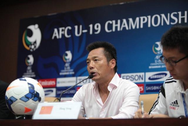 HLV U19 Trung Quốc nhiều lần lên tiếng coi thường U19 Việt Nam