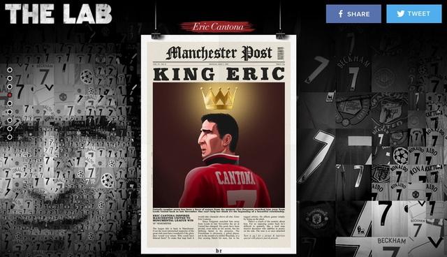 """""""Được thi đấu bên anh ấy là một giấc mơ. Cantona là nhà kiến tạo xuất sắc nhất tôi từng biết"""" – Ryan Giggs"""