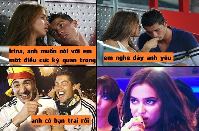 Khổ thân Irina khi yêu đúng chàng gay
