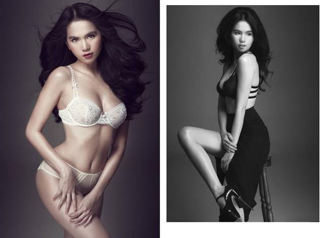 Trong làng mẫu Việt, mặc dù Ngọc Trinh không có cặp chân dài như những người mẫu khác, nhưng cô nàng lại có sức hút rất lớn. Chỉ cần 1 bộ ảnh, Nữ hoàng nội y có thể khiến công chúng xôn xao.