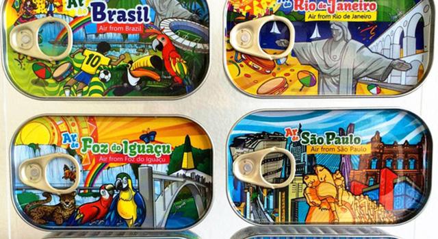 Những chiếc hộp không khí Brazil đầy màu sắc
