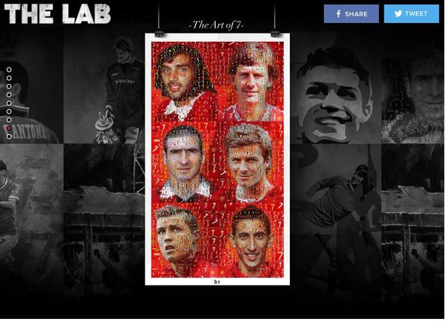 6 số 7 huyền thoại của Man United