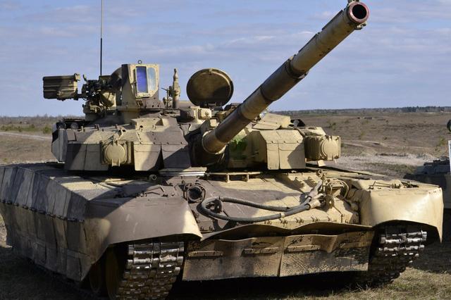 Xe tăng T-84 của quân đội Ukraine.