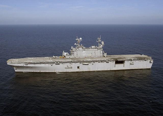 LHA-5 Peleliu chiếc cuối cùng thuộc lớp Tarawa còn hoạt động