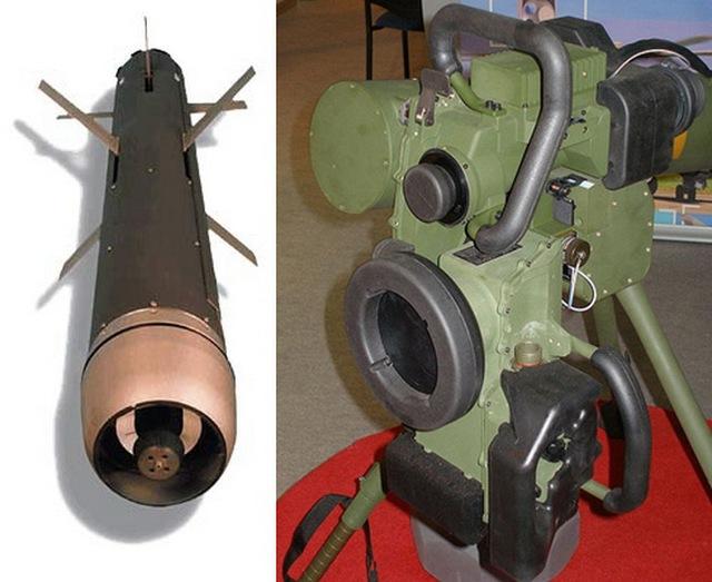 Tên lửa chống tăng Spike-MR và thiết bị điều khiển