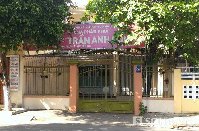 Căn nhà ông Truyền mua theo nghị định 61 tại số 6, đường Lê Quý Đôn, phường 1, thành phố Bến Tre.