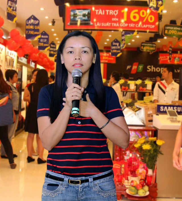 Bà Nguyễn Bạch Diệp, CEO FPT Shop.