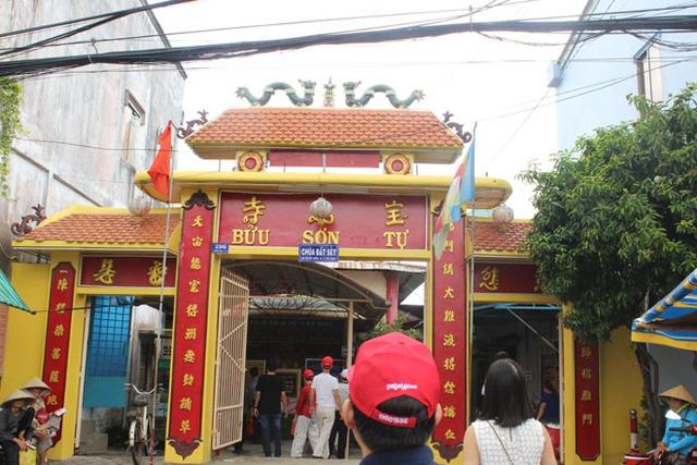 Bửu Sơn Tự (chùa Đất Sét) hiện nằm trên đường Tôn Đức Thắng, phường 5, TP.Sóc Trăng.