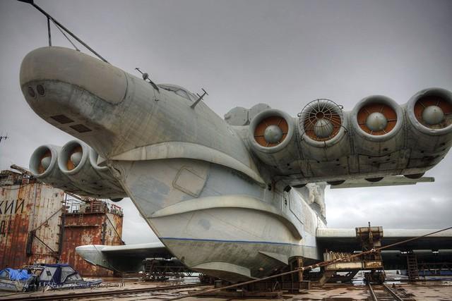 """Phiên bản """"tàu đệm khí bay"""" lớp Lun của Liên Xô"""