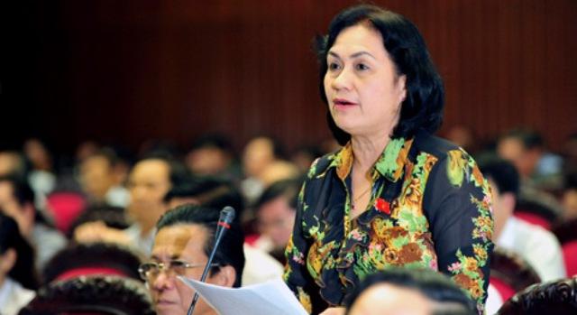 Bà Nguyễn Thị Khá, Đoàn ĐBQH tỉnh Trà Vinh.