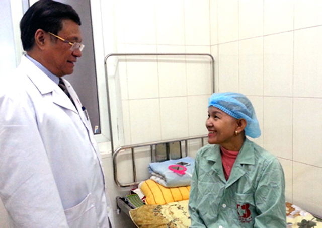 Sau nhiều tháng điều trị, chị Liễu đã được chữa thành công căn bệnh ung thư vú của mình.