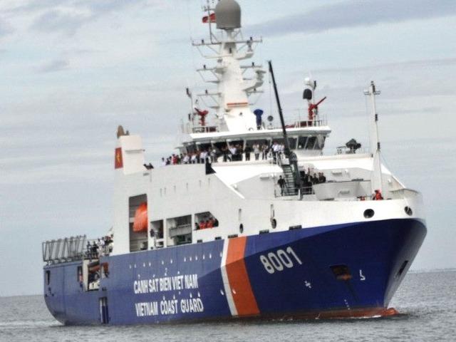 Tàu tuần tra 8001 của Cảnh sát biển