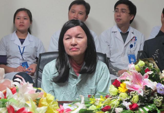 Bệnh nhân Định Thị Liễu, người đầu tiên tại Việt Nam được áp dụng phương pháp cấy ghép tế bào gốc tạo máu tự thân để chữa trị khỏi căn bệnh ung thư vú.
