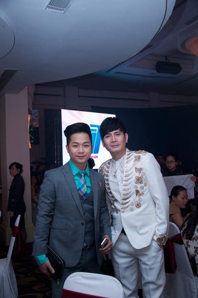 Quách Tuấn Du không ngờ rằng tại đây, anh lại có dịp gặp gỡ nam ca sĩ Quách Thành Danh, người từng thay anh thừa nhận clip ngủ nude trước đó.