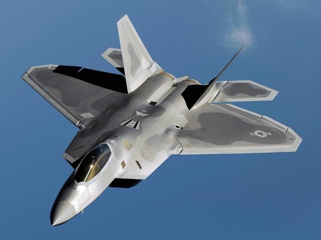 Tiêm kích F-22.