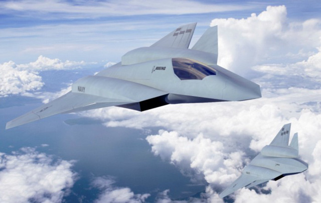 Tiêm kích thế hệ thứ 6 do Boeing thiết kế.