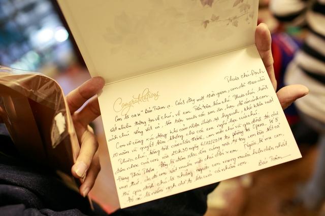 Nội dung bức thư Bảo Trâm gửi đến gia đình chú Định.