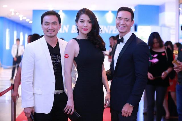 Bộ ba tung hoành ngang dọc trong phim: Anh Lớn (Chi Bảo) - Hương Ga (Trương Ngọc Ánh) - Hùng Hero (Kim Lý).