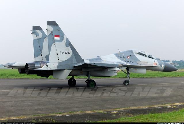Máy bay Su-30MK2 của Indonesia